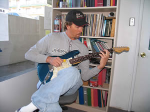 chuck wilson redondo guitar school student in a guitar lesson with instructor mark fitchett